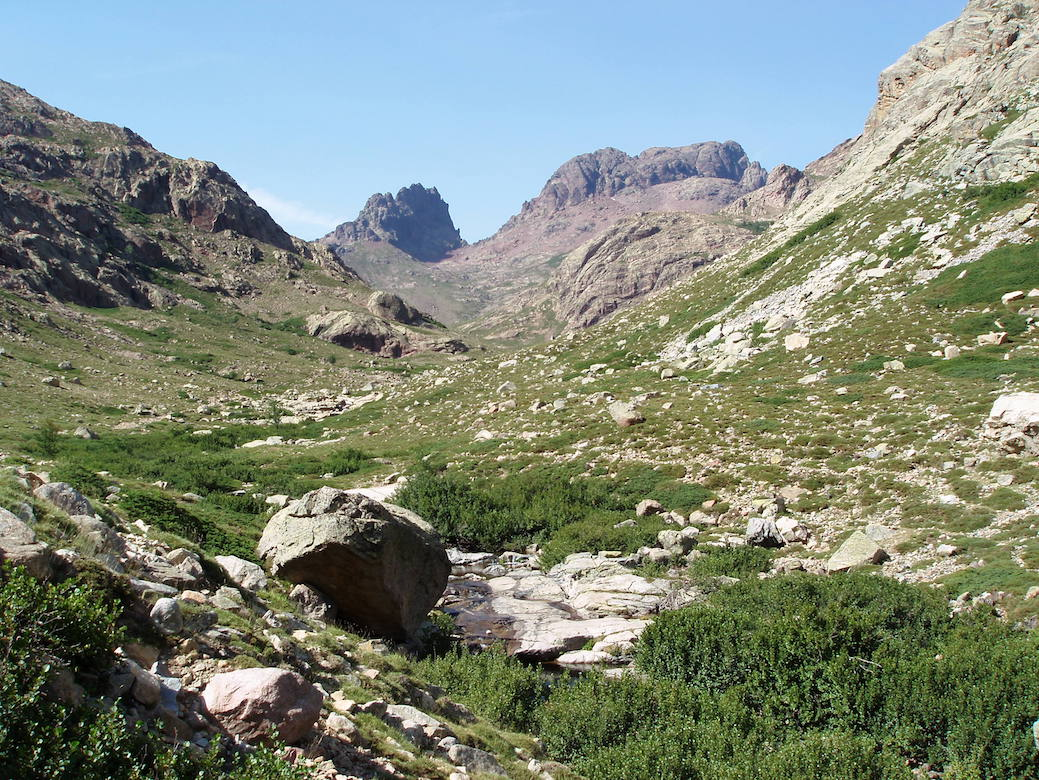 Aufstieg zum Refuge di Mori