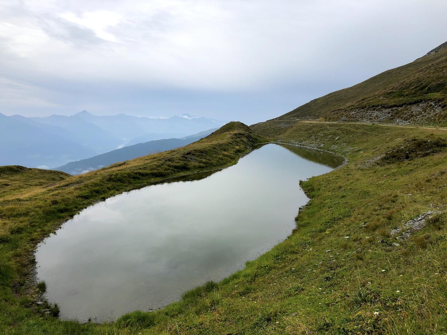 Bergsee an der Brenner Grenzkammstraße