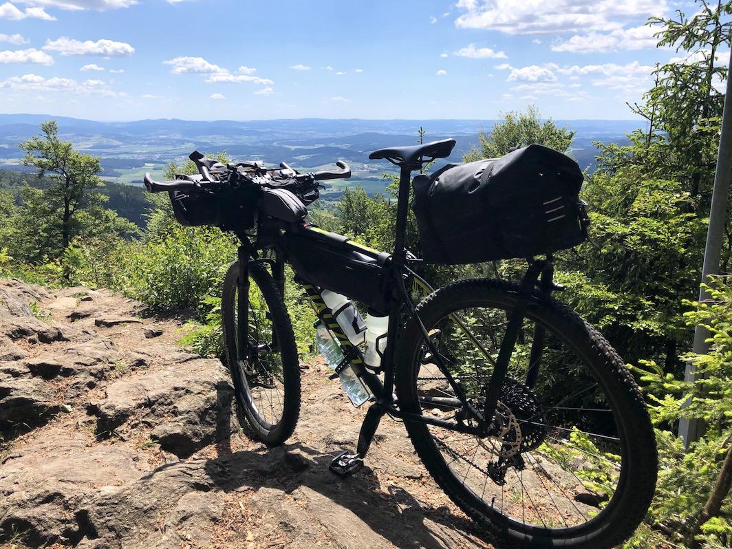 Berghuhn, Bikepacking, Trans Bayerwald, Tailfin, Specialized