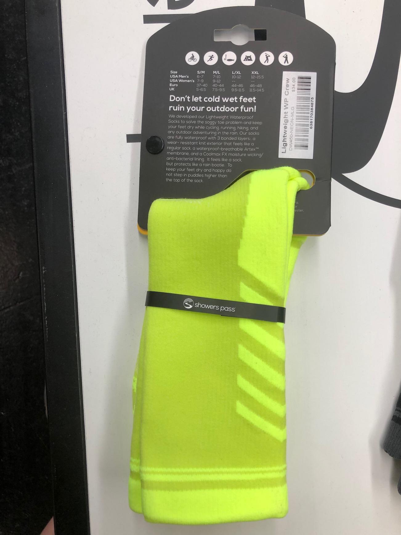 showers pass - wasserdichte Socken