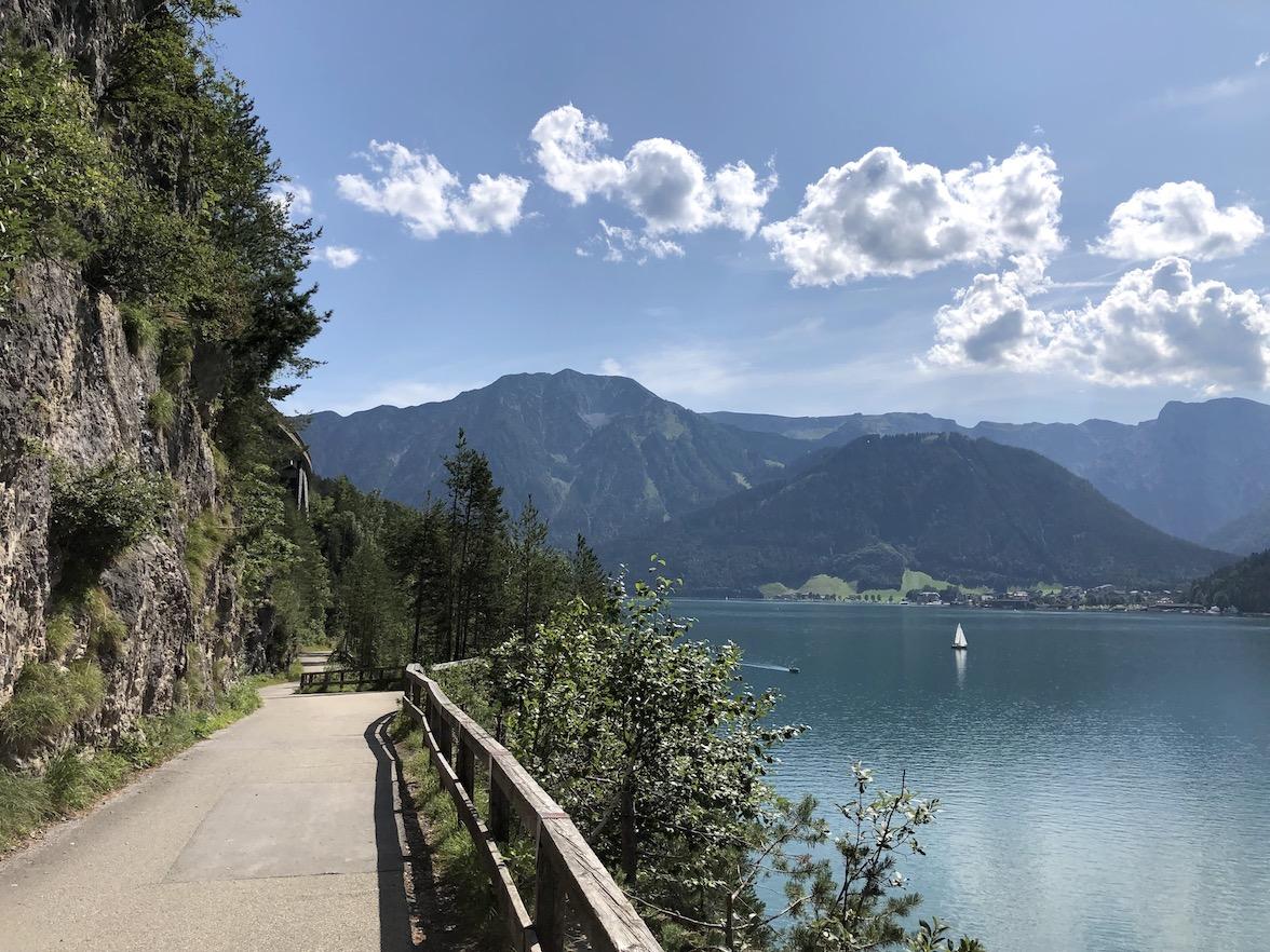 Radweg am Achensee