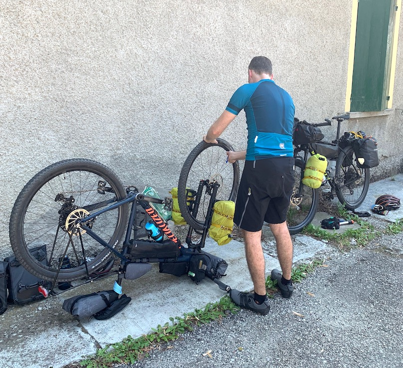 Bikepacking im Apennin