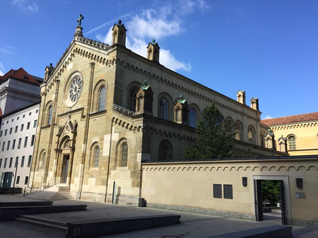 Kabinettsgarten, Allerheiligenhofkirche