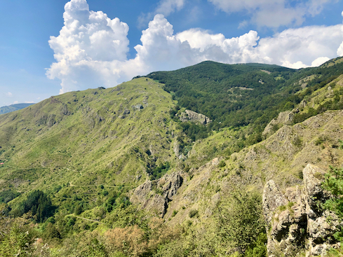 Blick auf den Monte Aiona