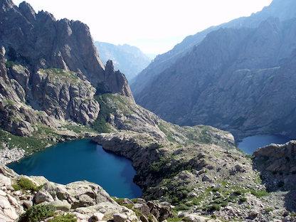 Korsika , traumhafte Bergseen