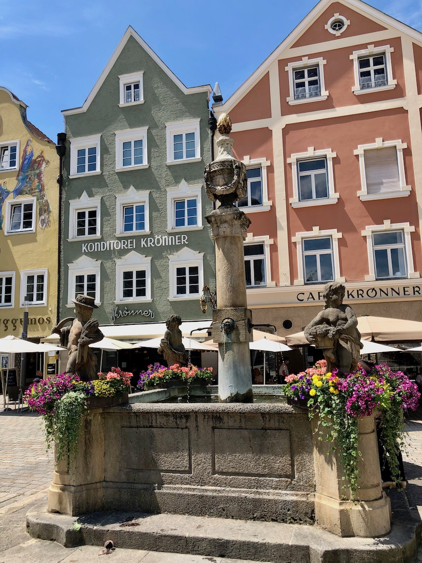 Marienplatz in Weilheim