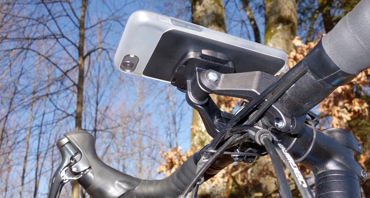 Universal Bicycle Mount Dual von unten