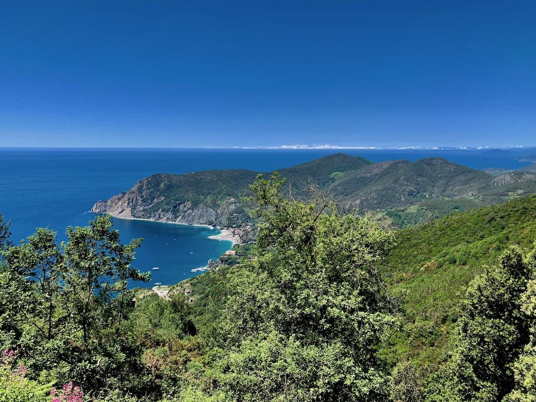 Im Nationalpark Cinque Terre - traumhafte Küstenabschnitte