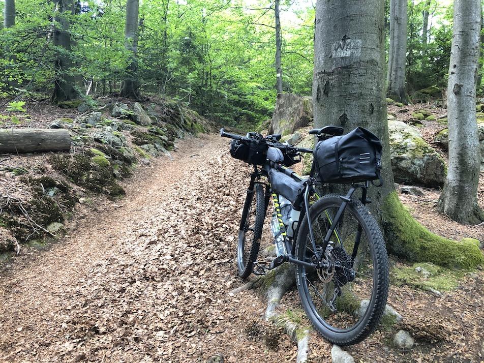 unterwegs auf der Trans Bayerwald