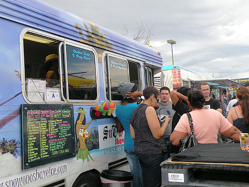 SnOw ONO Shave Ice at Food Truck Rodeo