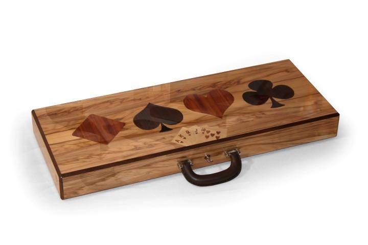 Pokerkoffer mit Wunschmotiv