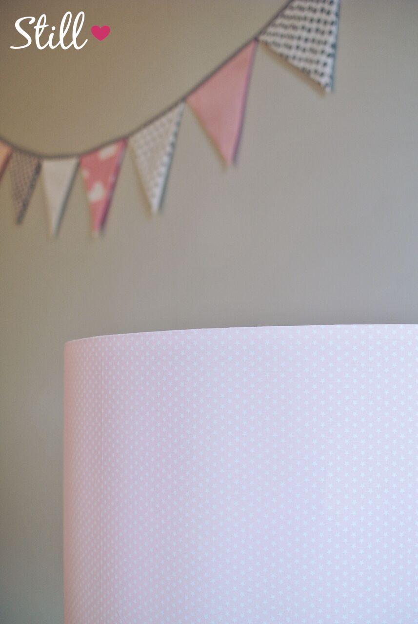 Lampenschirm & Wimpelkette