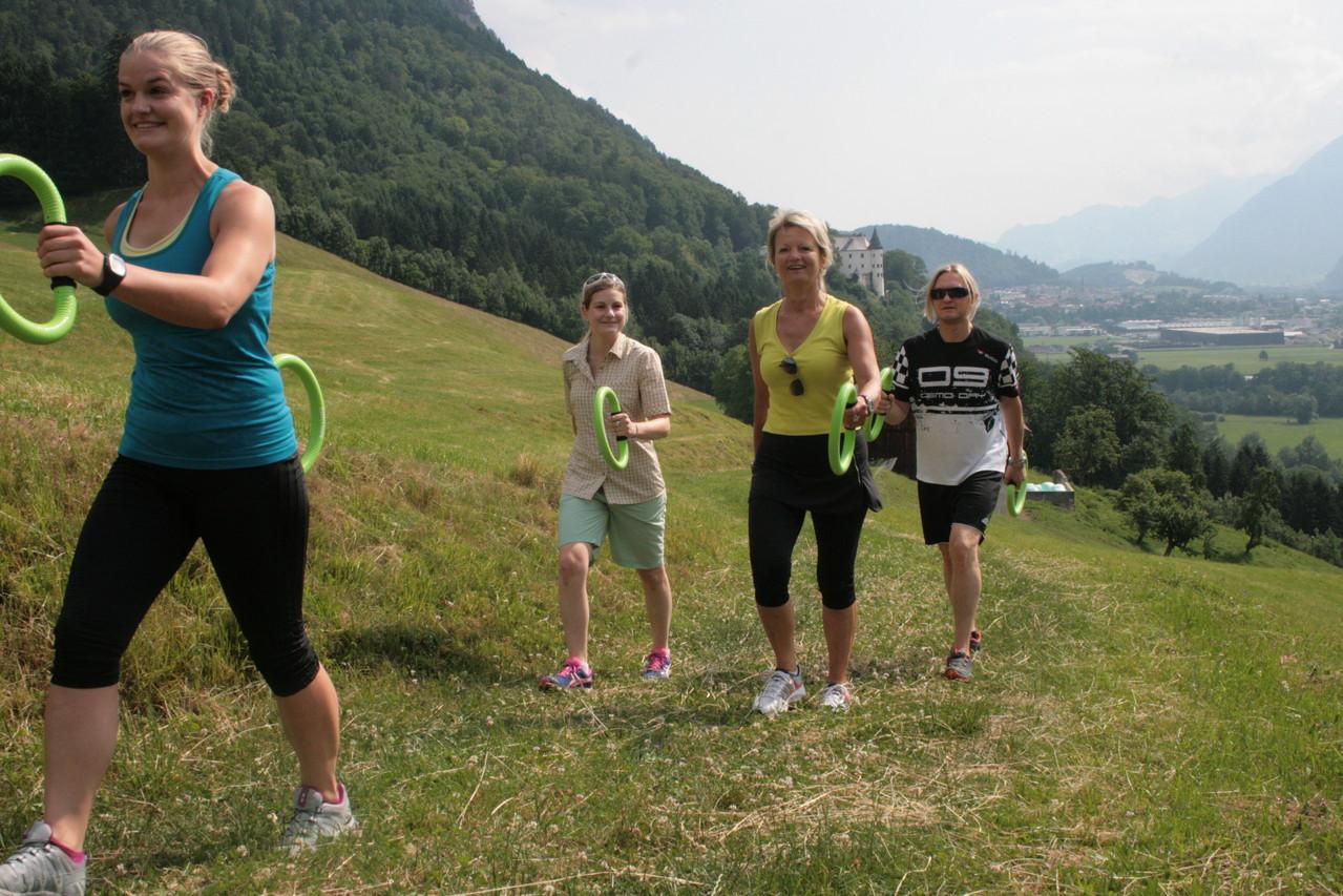 In der Gruppe macht Smovey Walking doppelt Spass, Foto: Meinert