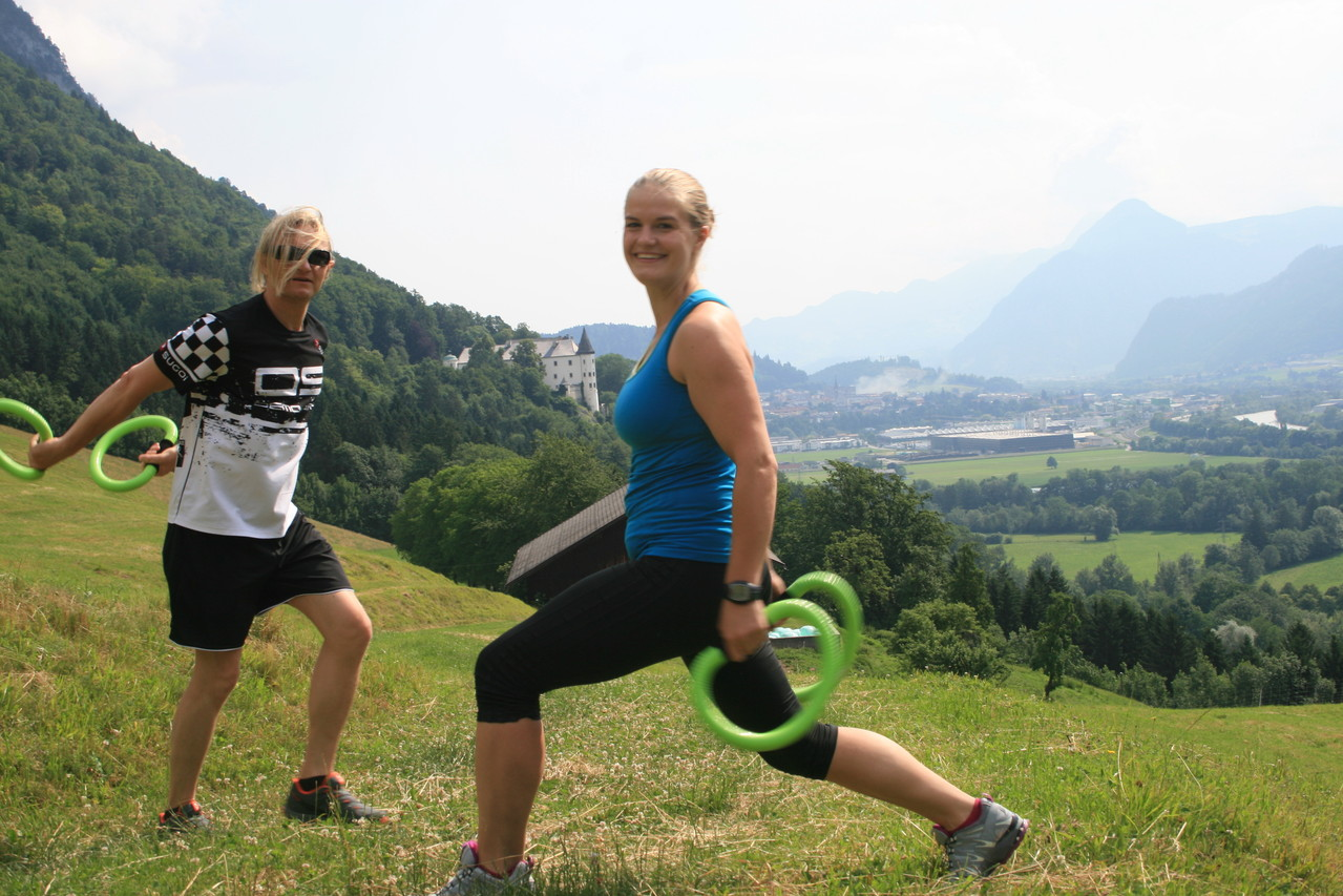 Doris ist unser Fitnesscoach, Foto: Meinert