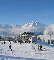 Skifahren in Mieders
