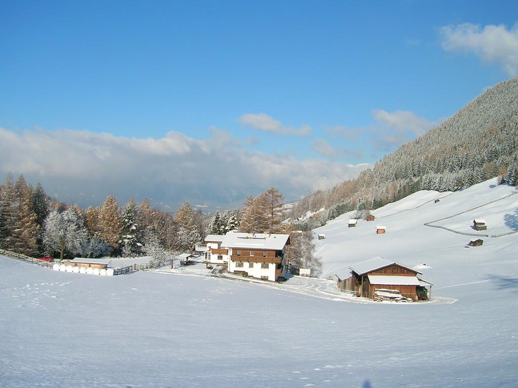 Das Haus Riedhof im Winter