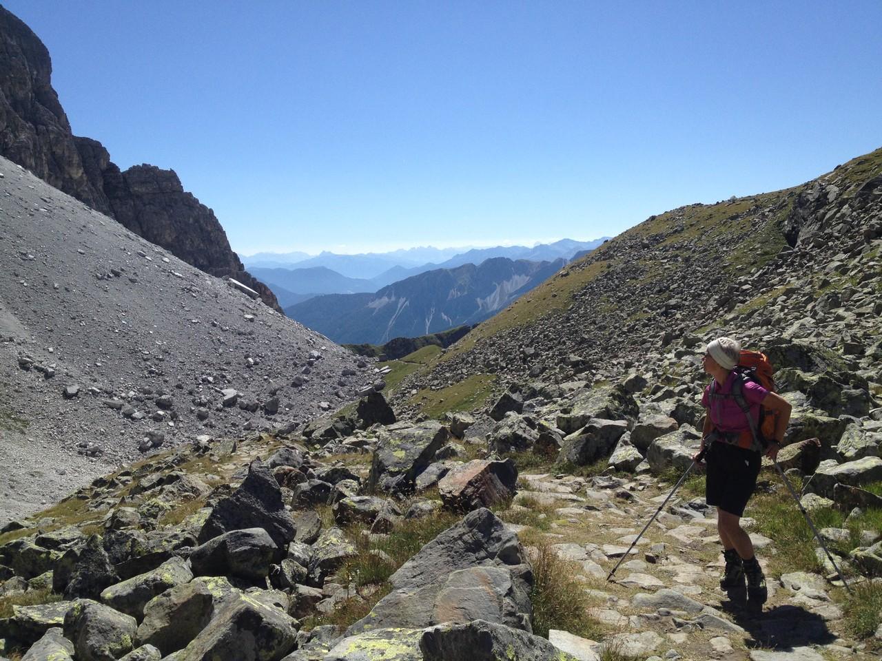 Erholung finden beim Wandern