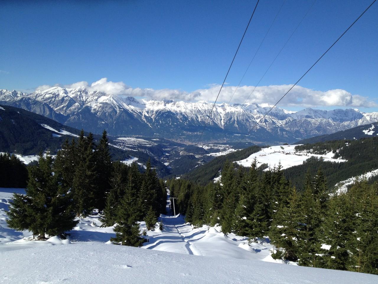 Skigebiet Hochserles ist auch im Winter zufuß zu erreichen!