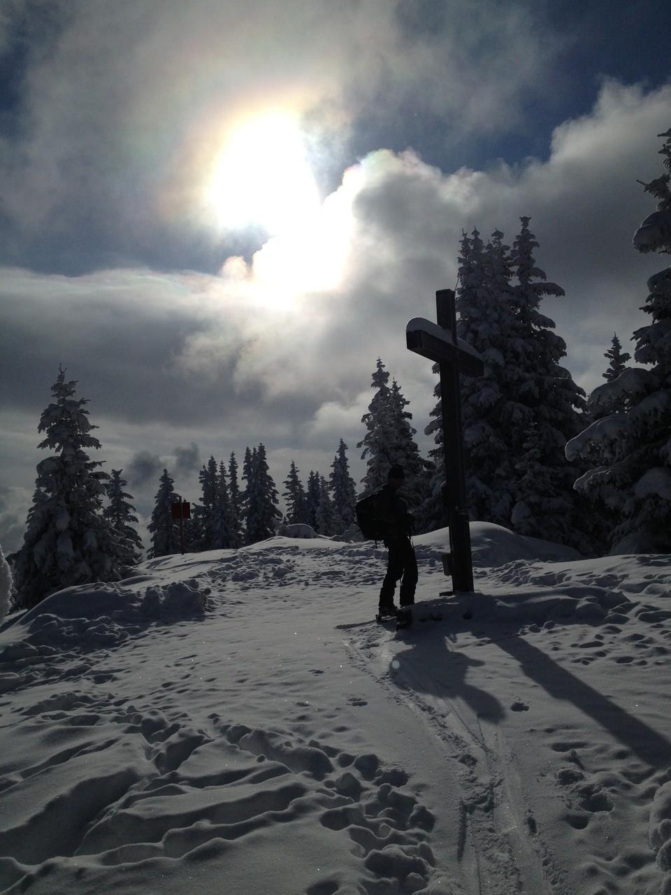 Skitourziel: Waldraster Jöchl in Mieders