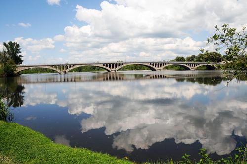 Feurs, le pont sur la Loire