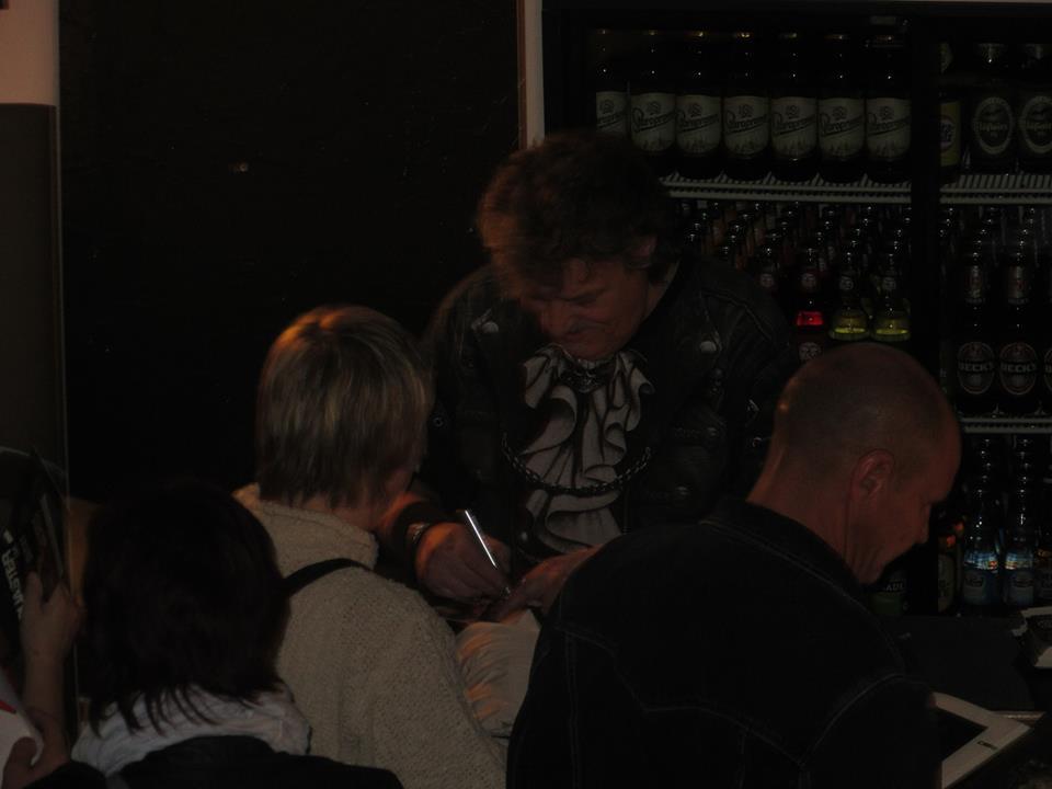 Autogrammstunde nach der Show