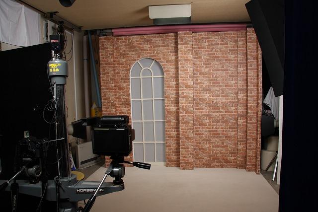おおまち写真社 スタジオの様子