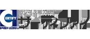 サーティファイのロゴ