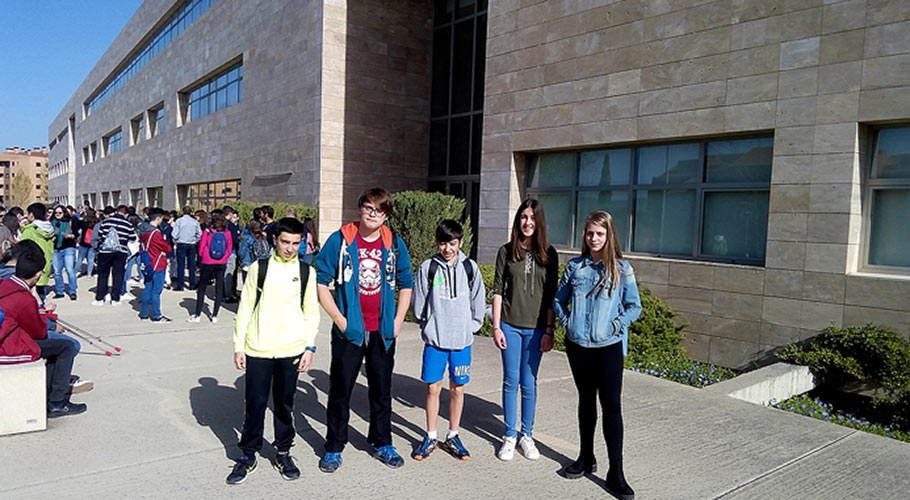 Estudiantes de ESO en las Olimpiadas Matemáticas