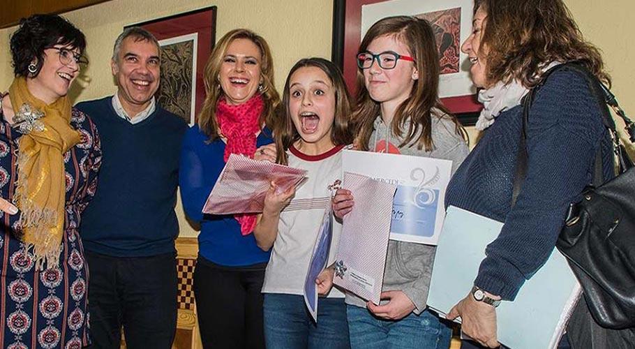 """Estudiantes de 1º de ESO ganadores del concurso """"La célula"""""""