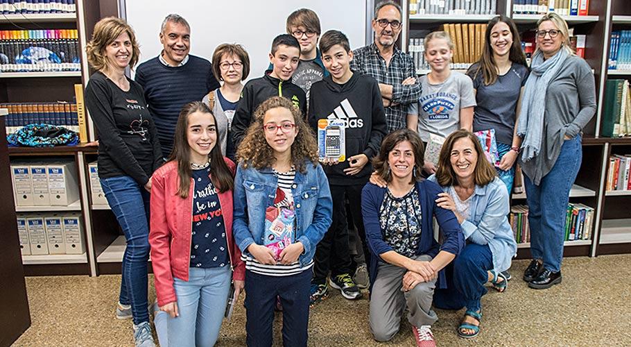Estudiantes participantes en el Rincón Matemático