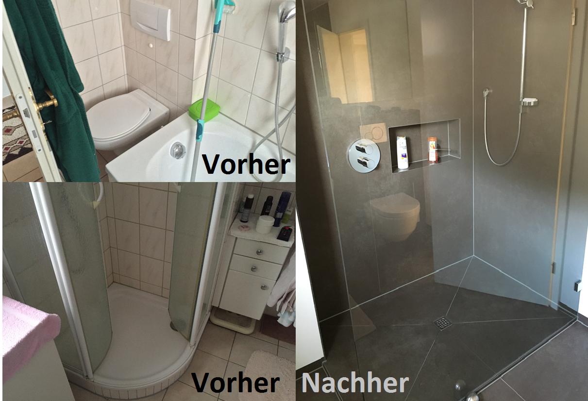 Badezimmer Renovierung Referenzen - Holzquadrat - Konzept 13.0 - Ihr ...