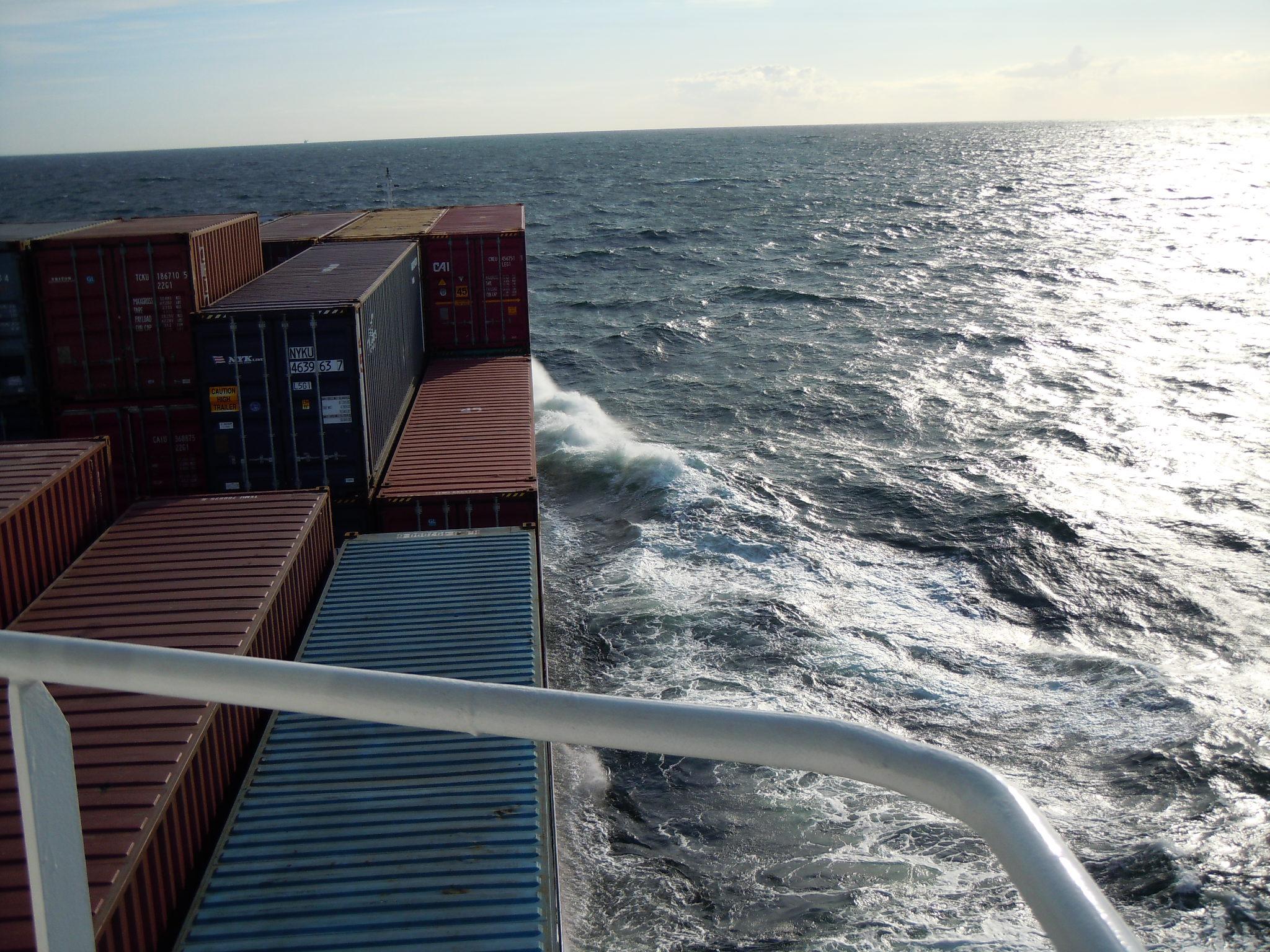 Rückfahrt Richtung Nord- Ostseekanal
