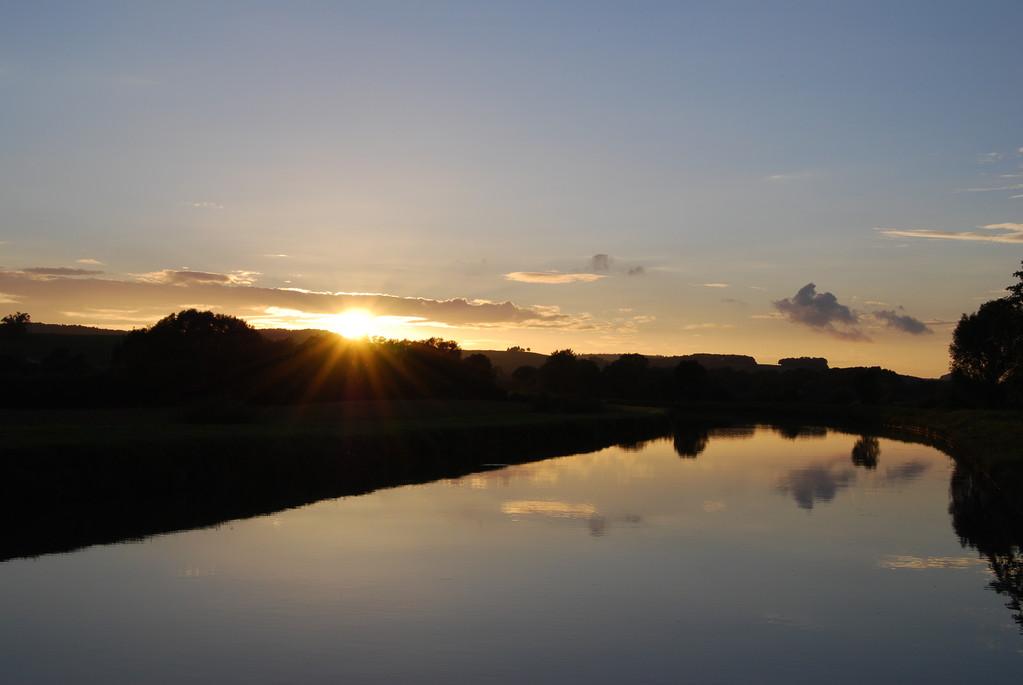 ... und ein letzter Sonnenuntergang