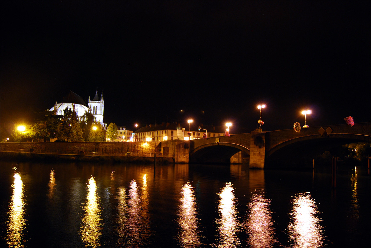 Montereau by Night