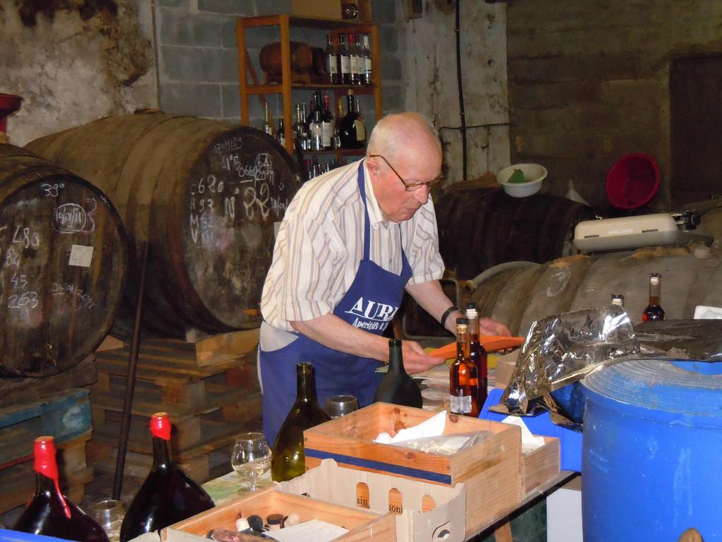 Besichtigung Armagnac Distillerie