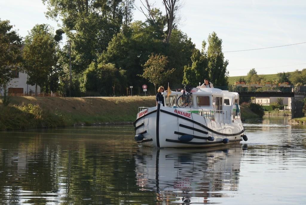 Auf dem Canal lat. à la Loire