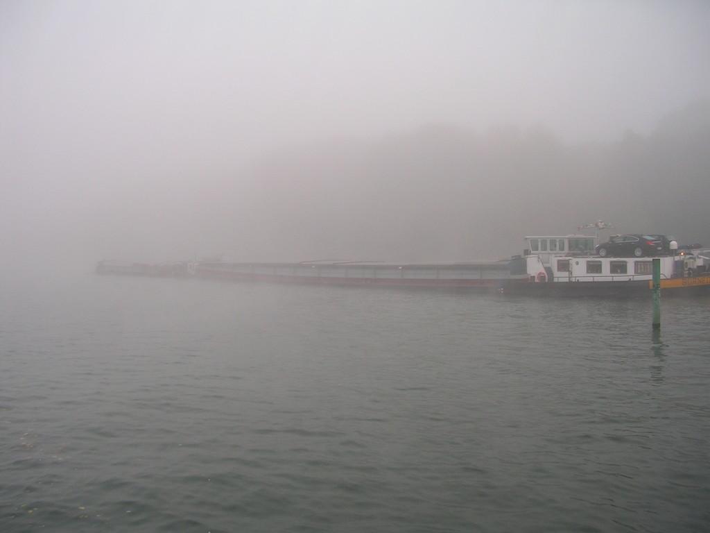 Morgennebel auf der Haute Seine