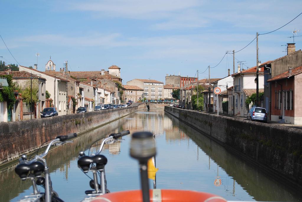 Moissac am Canal de Garonne