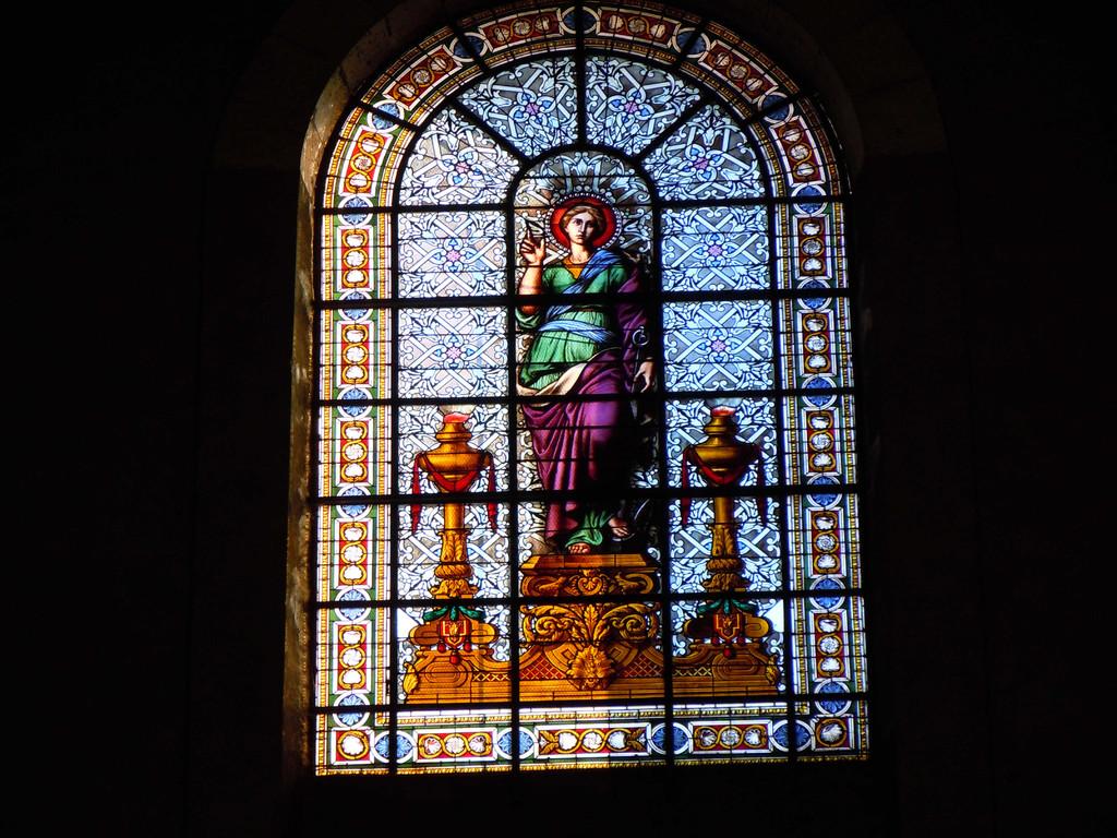 Kirchenfenster Kathedrale Notre-Dame Montauban