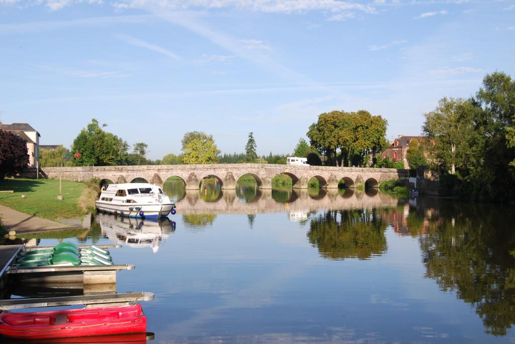 Auf der Vilaine bei Pont Réan