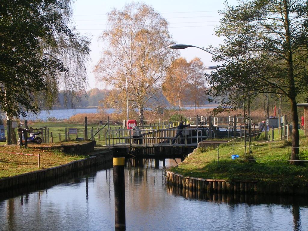 Templiner Gewässer, Schleuse Kannenburg