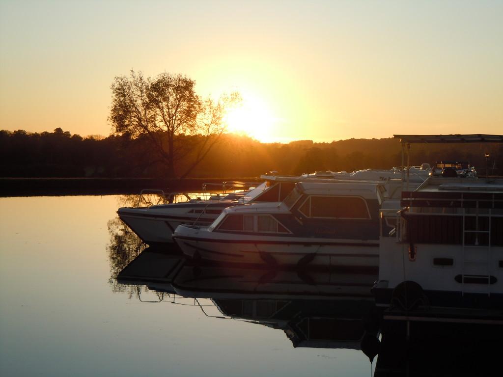 Sonnenuntergang in Hesse