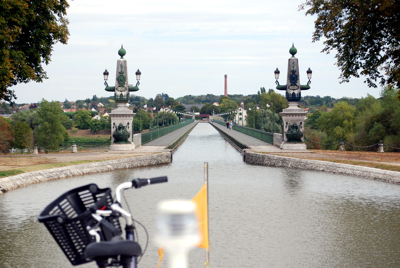 Canal de Briare 2012 (Aquädukt über die Loire bei Briare)