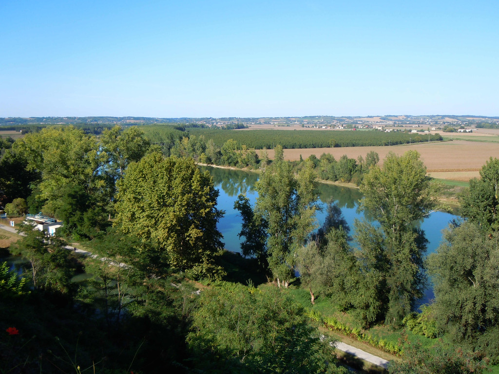 Die Garonne bei Meilhan