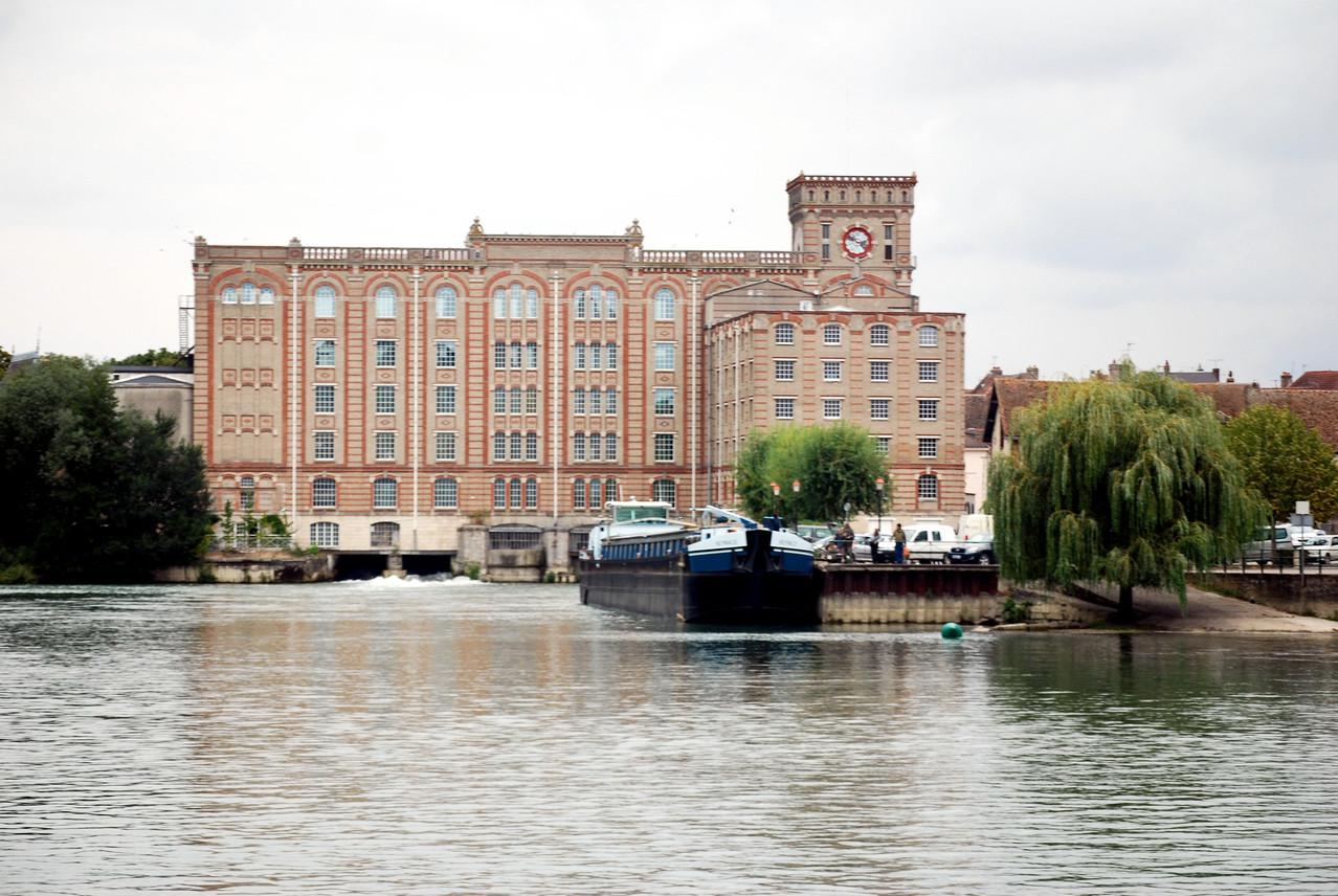 Die ehemalige Mühle von Nogent s/Seine
