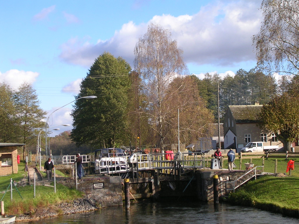 Schleuse Kannenburg (Templiner Gewässer)