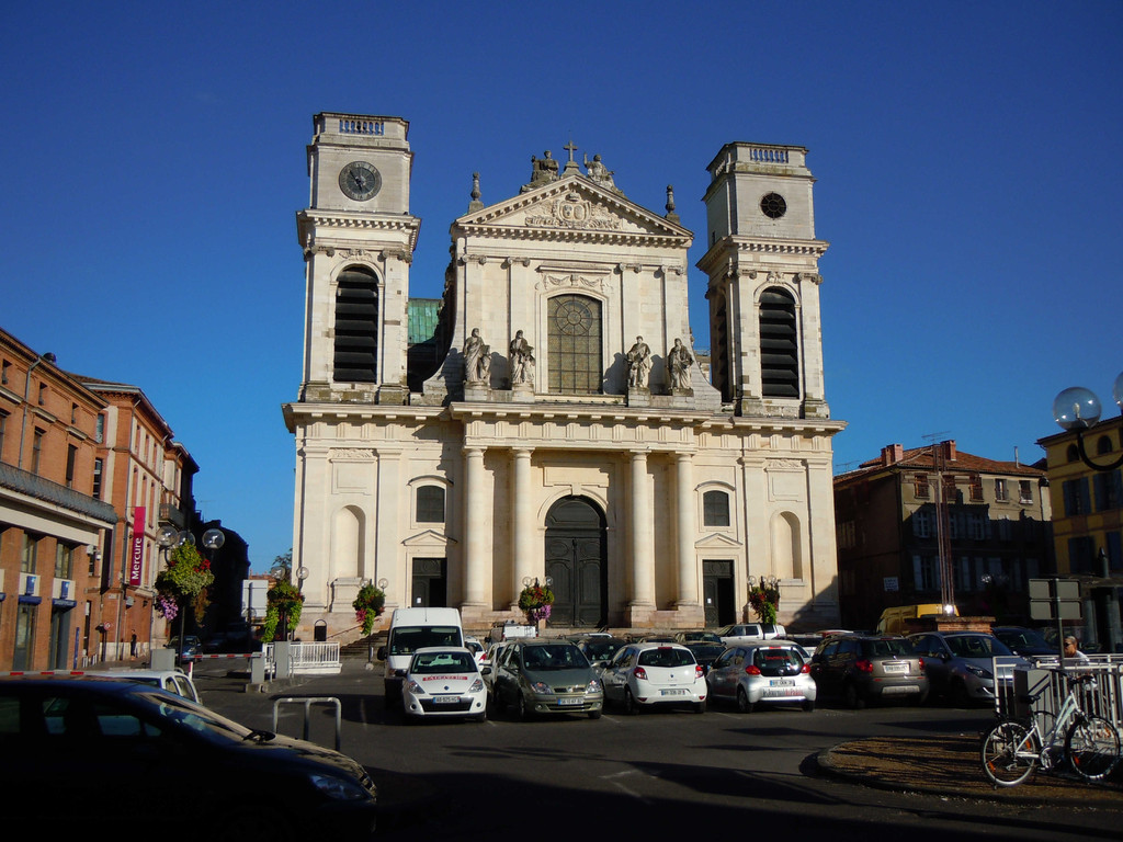 Kathedrale Notre-Dame in Montauban