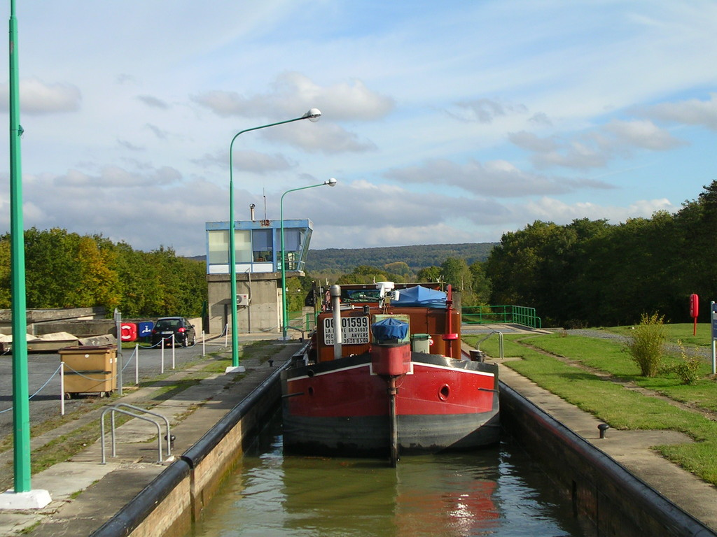Auf dem Canal du Nord