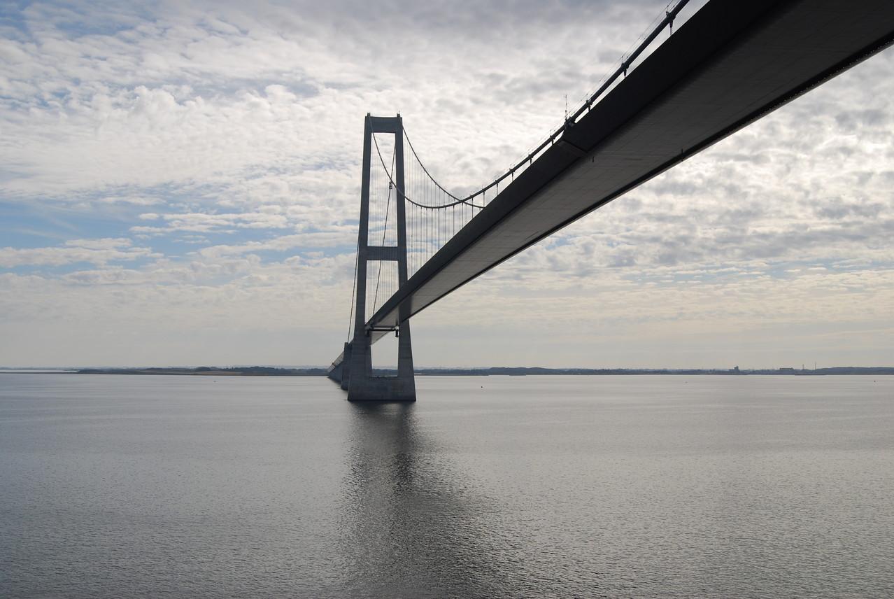 Die Storebaeltbrücke