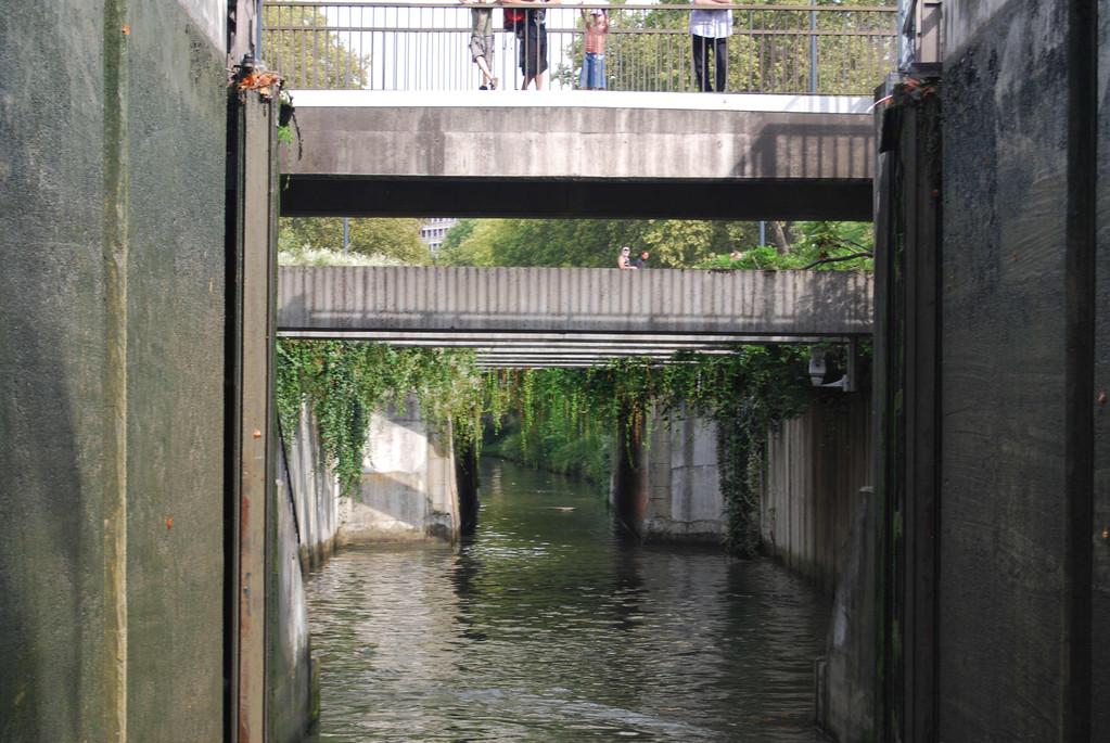 Einfahrt Schleuse Bayard in Toulouse